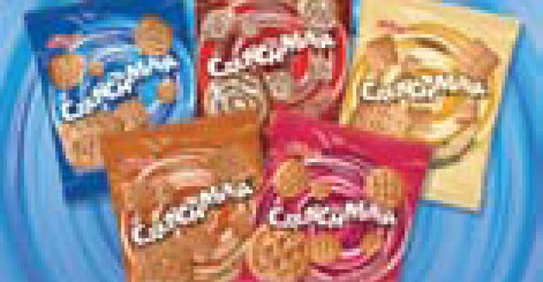 Kelloggs Crunchmania Graham Snacks present operators