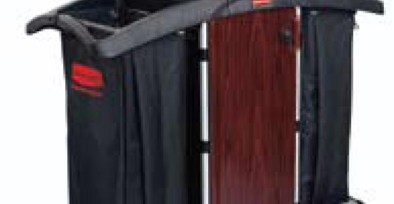 Rubbermaid Commercial Products new Deluxe Paneled Carts