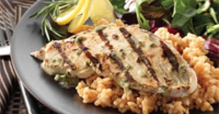 Rosemary Lemon Turkey Steaks