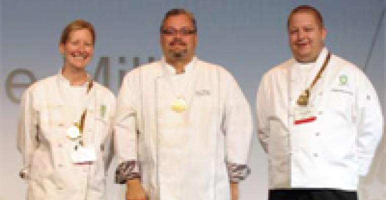 HFM Scores in Catersource Culinary Contest