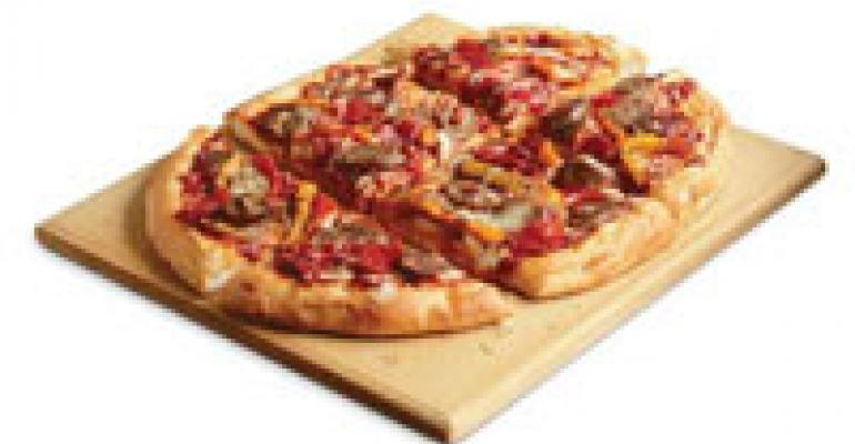 Sicilian Sausage and Sweet Peppers Pizza