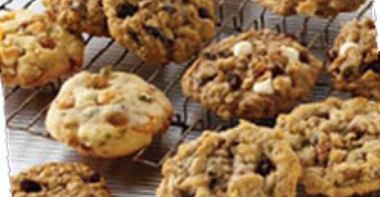 Golden Raisin, Lemon, Pistachio and Butterscotch Cookies