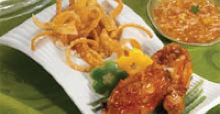 Gorgonzola Bacon Polenta Bites