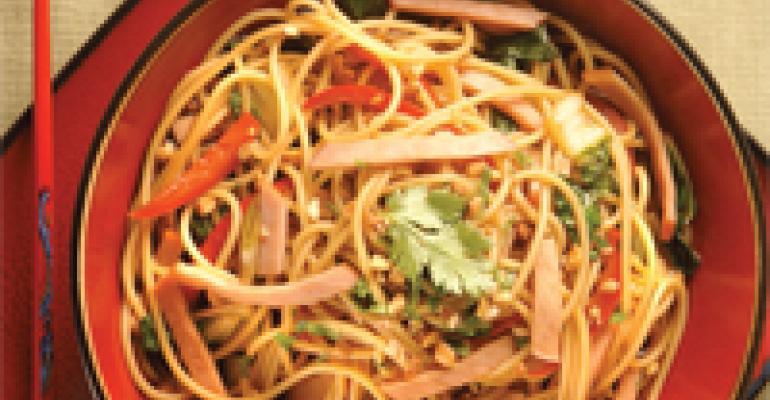 Szechuan-Style Lo Mein