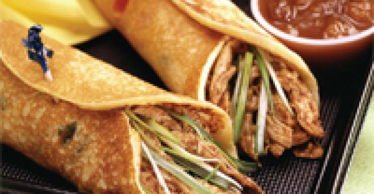 Jamaican Chicken Wraps