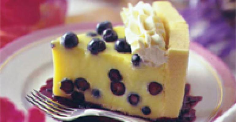 Blueberry-Lemon Charlotte