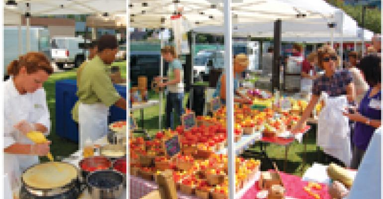 AVI Jump-Starts Farmers Market at Cleveland Clinic
