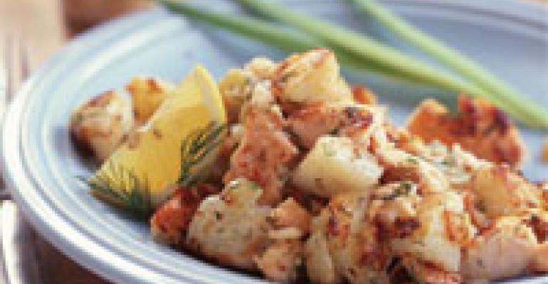 Phil's Salmon Hash