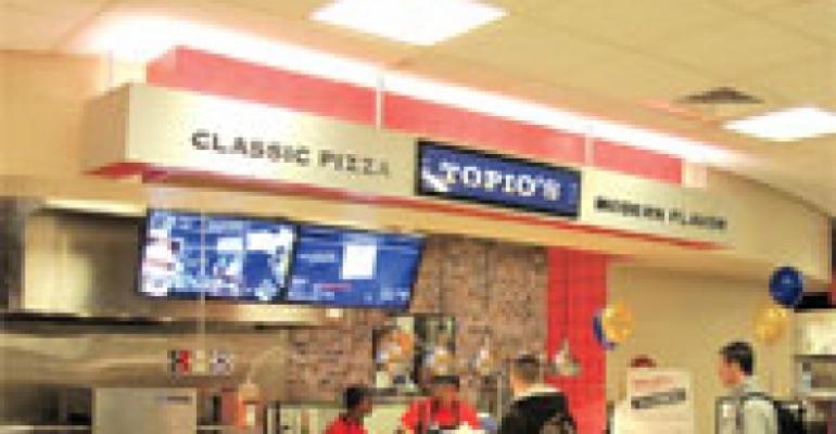 Aramark Launches Pizza Brand