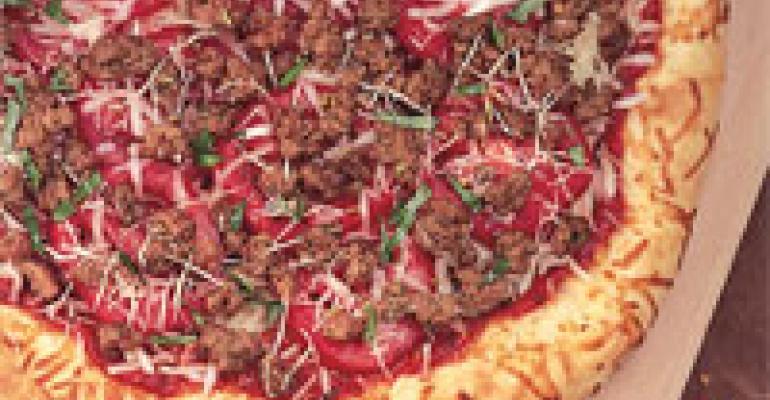 American Lamb Pizza Supreme