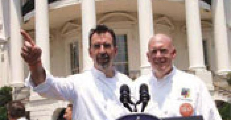 Chefs Descend on White House to Support School Food Initiative