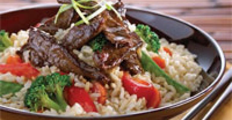 Beef Teriyaki Rice Bowl