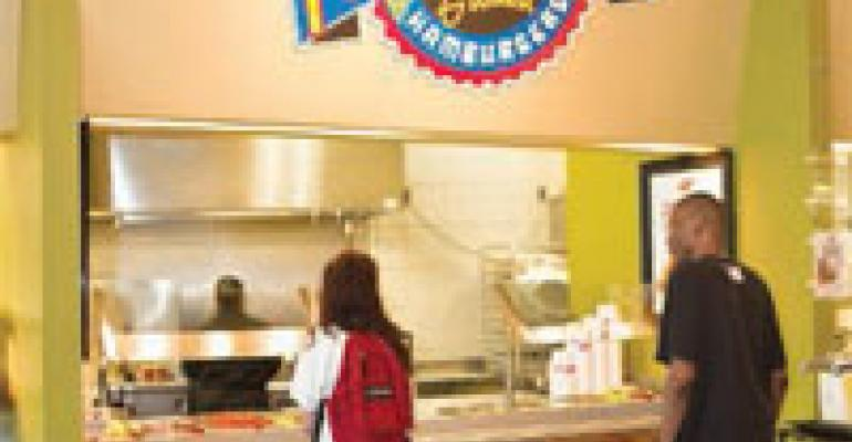 Luby's Launches Fuddruckers in College Venue