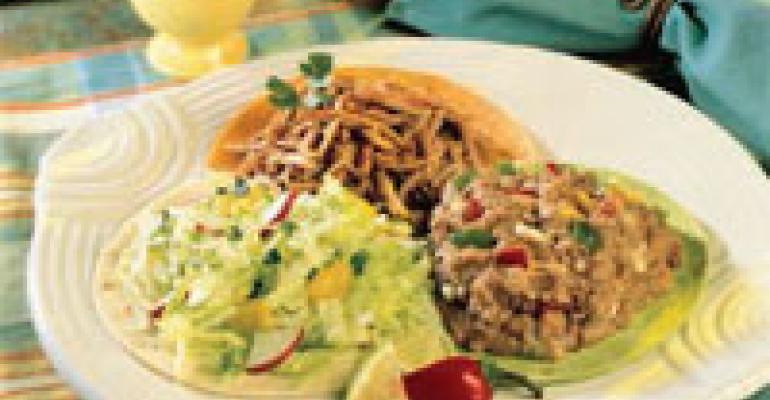 Tricolor Tortilla Salad