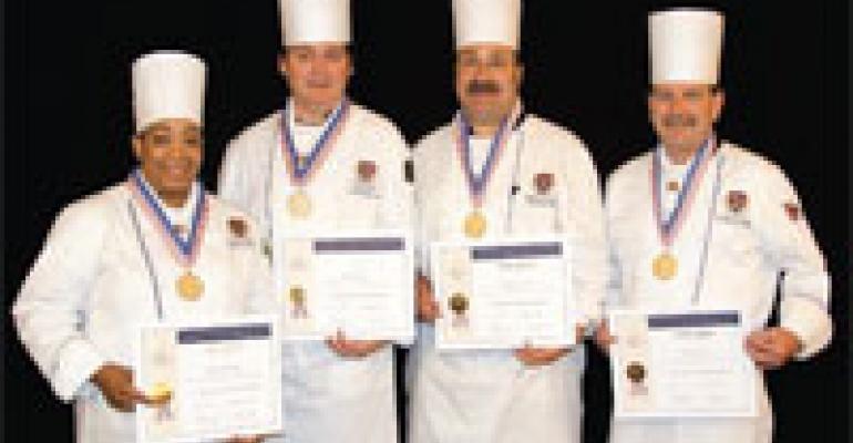 Three Teams Win ACF Gold at UMass Culinary Competition