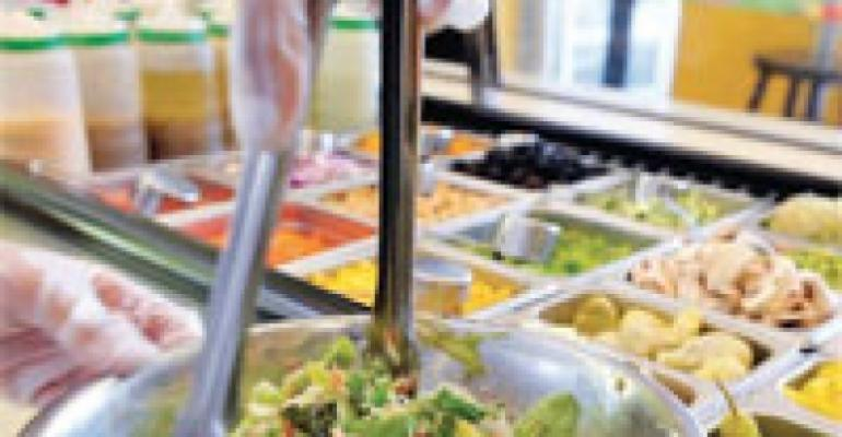 Aramark Partners With Salad Concept for Campus Units