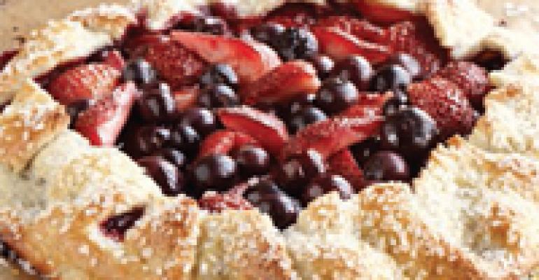 Mixed Berry Crostata