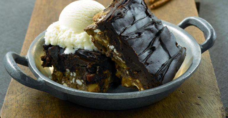 Chocolate Bacon Pretzel Crunch
