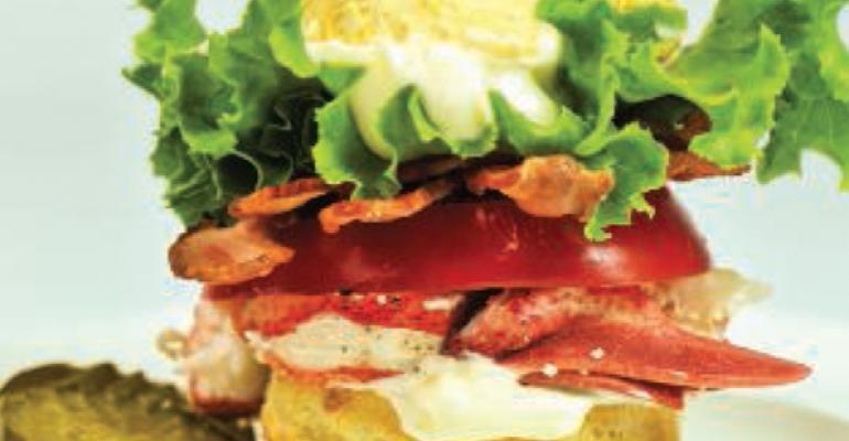 Lobster Salad BLT