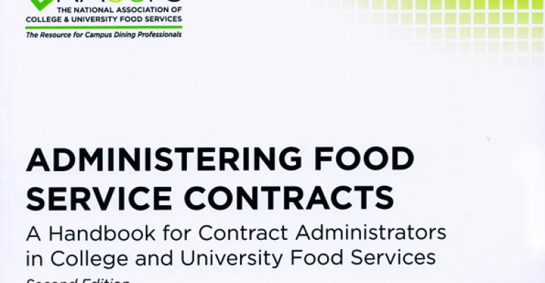 Book Review Administering Food Service Contracts  Food Management