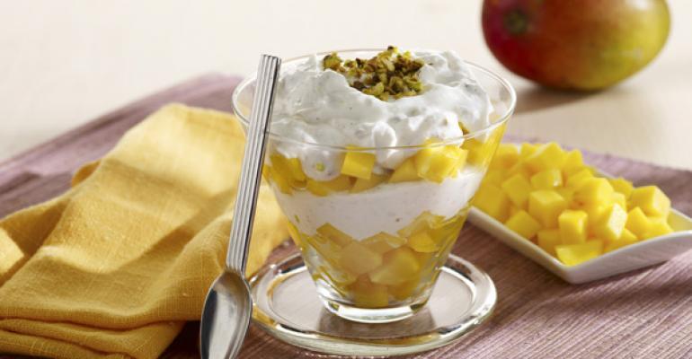 Mango Lassi Yogurt Cup