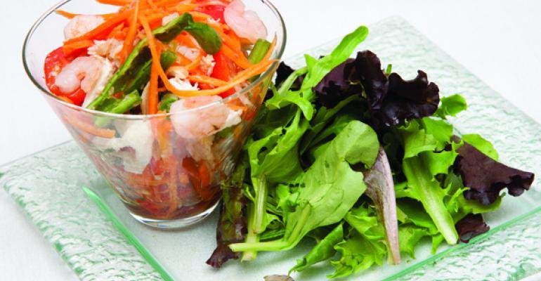 Gusts Thai CrabPapaya Salad