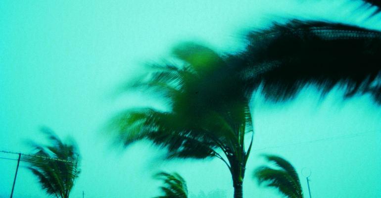 Hurricane stock image