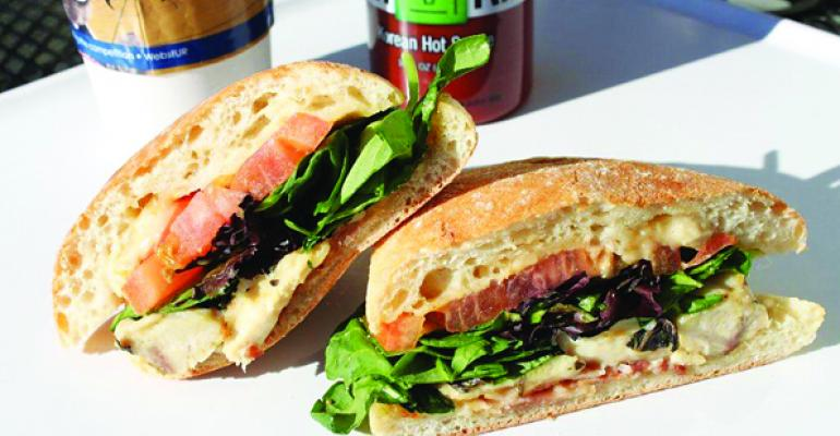 Sandwich of the Month: The Mini Chicken Sandwich