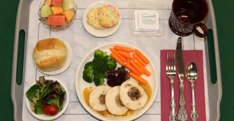 A welldesigned room service tray Photo from DMA Webb Associates