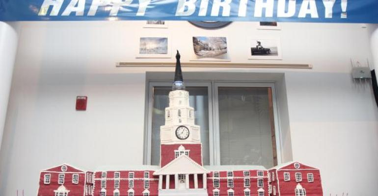 Colby College Celebrates 200th Anniversary With 600-lb. Cake