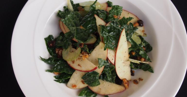 Kale Waldorf Salad Vegan