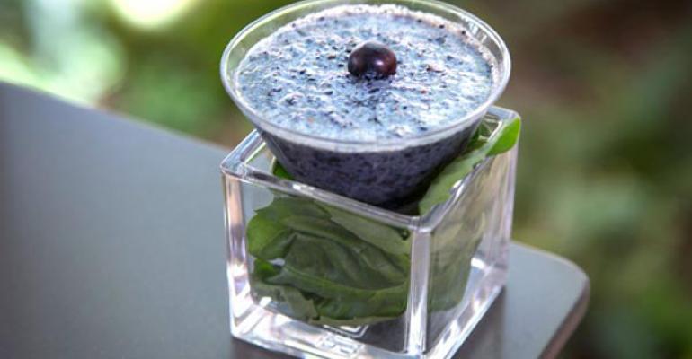 almondmilkberry smoothie