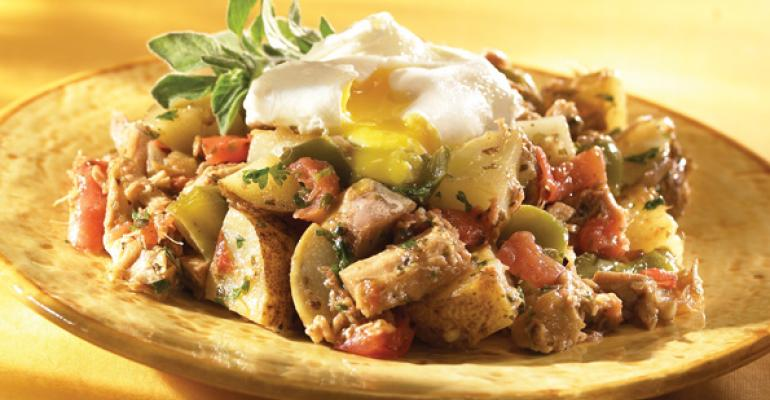 Cuban Pork Hash