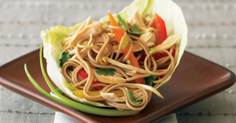 Chicken Soba Salad