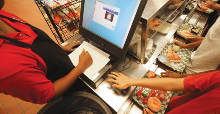 Many schools set up POS systems so no distinction is apparent as to whether a student has paid for a meal or is receiving it free or at a reduced price But when paying students run out of credit there is no easy answer in terms of how to handle the problem