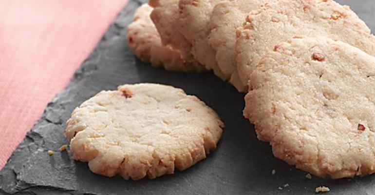 Parmesan Cayenne Shortbread Cookies