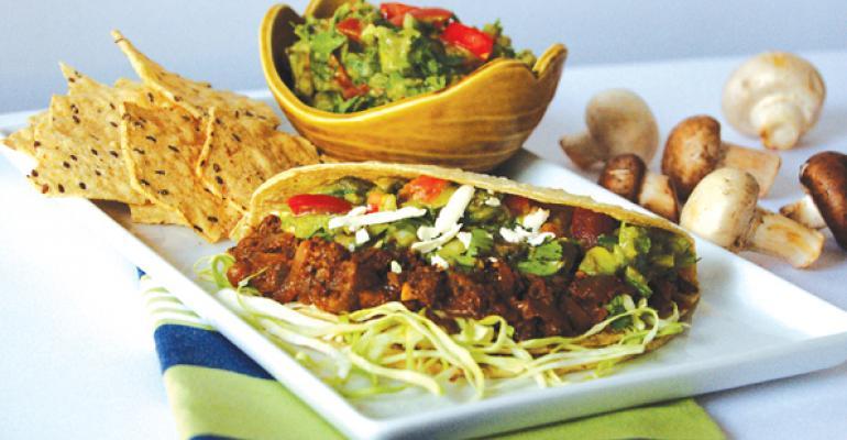 Chefs Serve Up Vegetarian Tacos