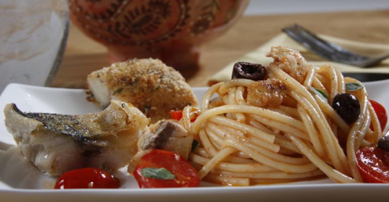 Spaghetti Pesce Azzurro