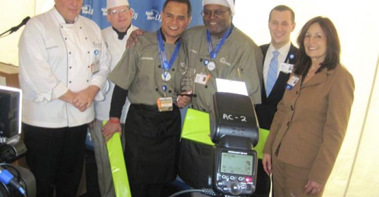 Glen Cove winning chefs Lyndon Espiritu and Dalton Christopher