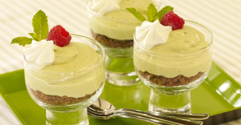 Avocado Margarita Cream Parfait