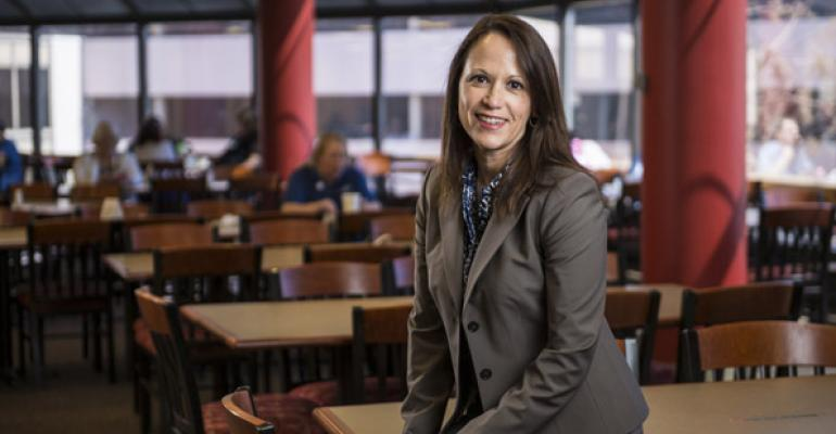 Lisette Coston has never been intimidated by a challenge Her latest will be finding time for both her regular job at St Francis and her role as AHF president