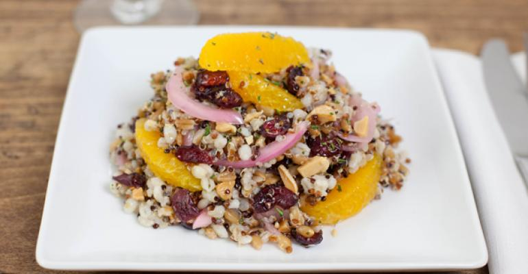 Ancient Grains Medley Salad