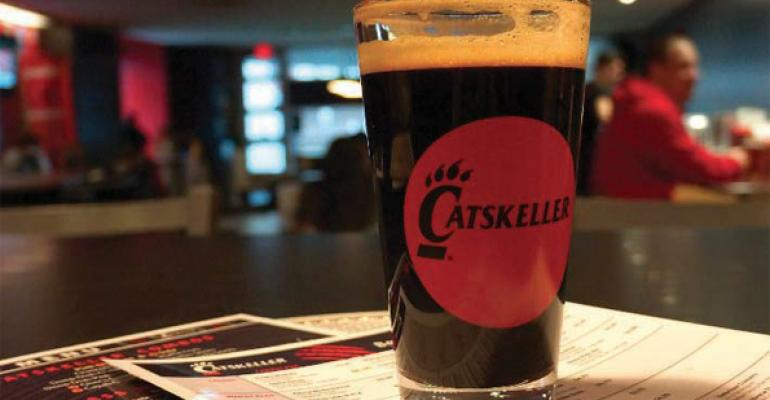 The Catskeller at the University of Cincinnati has focused on craft beers since 2007 almost doubling previous sales It has 8 rotating taps and 50 beers on its menu