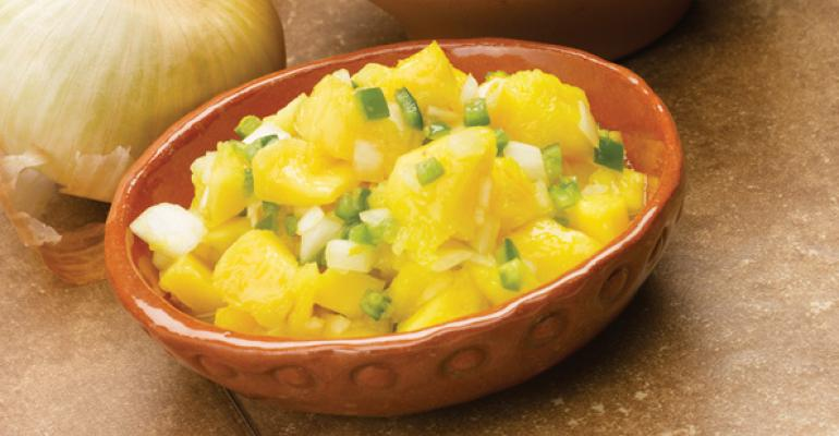 Mango-Onion Salsa