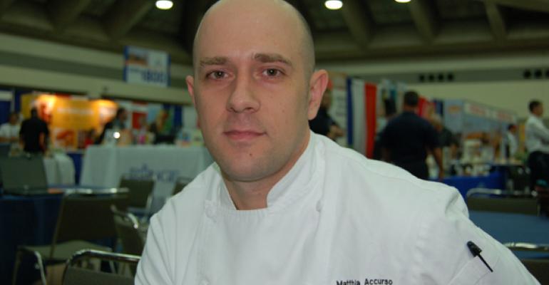 UMass Chef Wins NACUFS 2014 Culinary Challenge