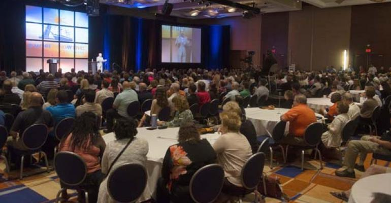 More than 1100 people attended NACUFSrsquo annual conference including 781 institutional members