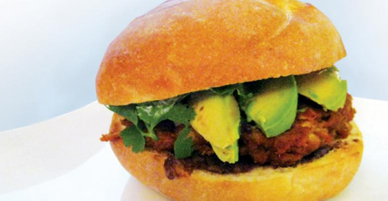 Peanut Chicken Torta