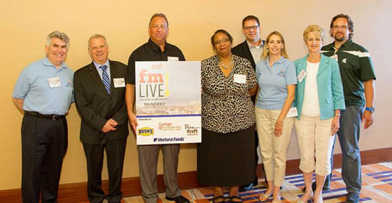 FM Live: The Latest in College Foodservice