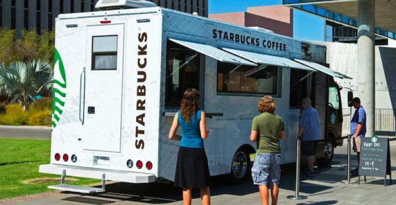 Starbucks Mobile Trucks to Debut on Three Campuses This Fall
