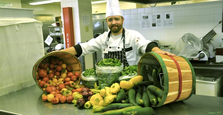 Executive Chef Justin Johnson is taking his expertise and experience with developing sustainable highquality dining programs to his new venture Sustainable Kitchens